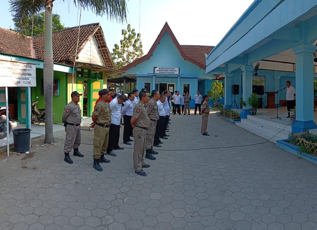 Kegiatan Apel Pagi <BR>Apel Pagi Rutin Karyawan Kecamatan Padangan dan Dinas satu atap.