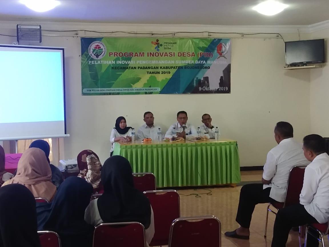 Program Inovasi Desa (PID)<BR>Pelatihan Inovasi Pengembangan Sumber Daya Manusia