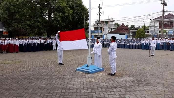 UPACARA PERINGATAN HARI SUMPAH PEMUDA KE-90 TAHUN 2018<BR>KECAMATAN PADANGAN