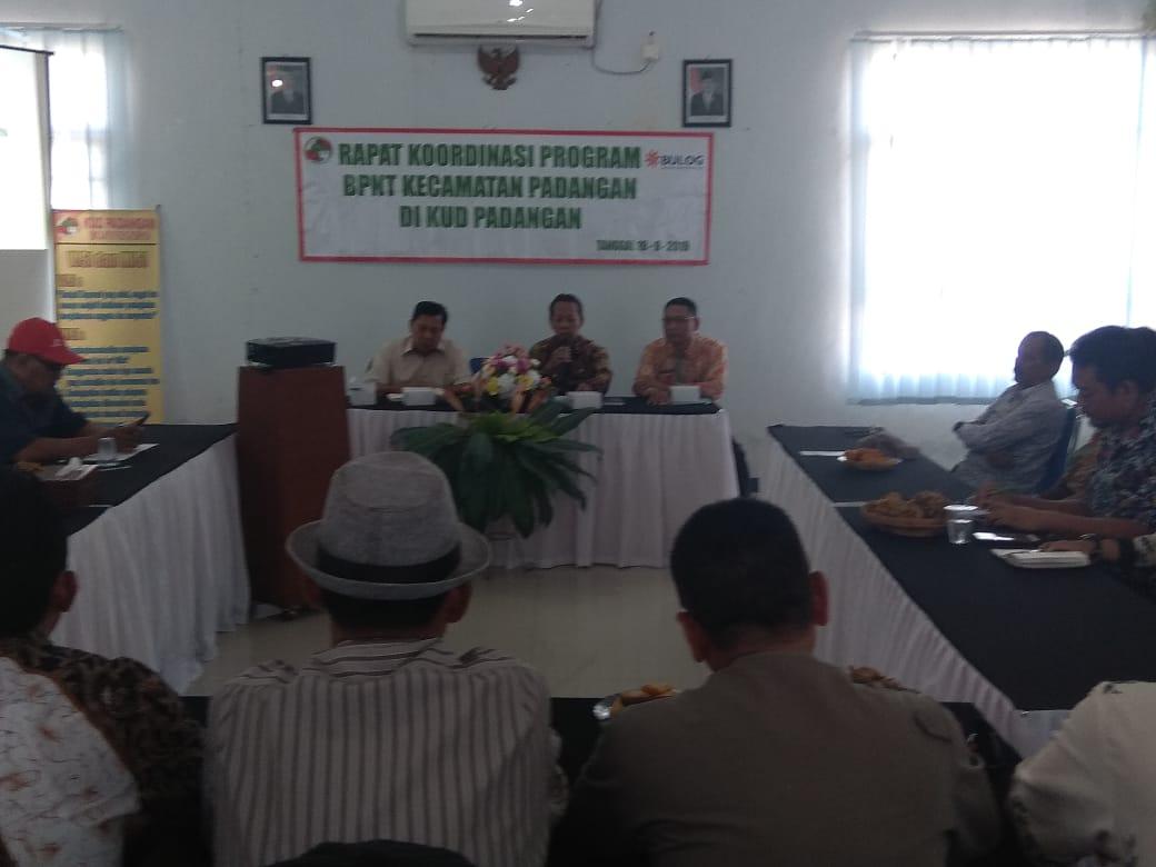 kegiatan<BR>Rapat Koordinasi Program BPNT  Kecamatan Padangan