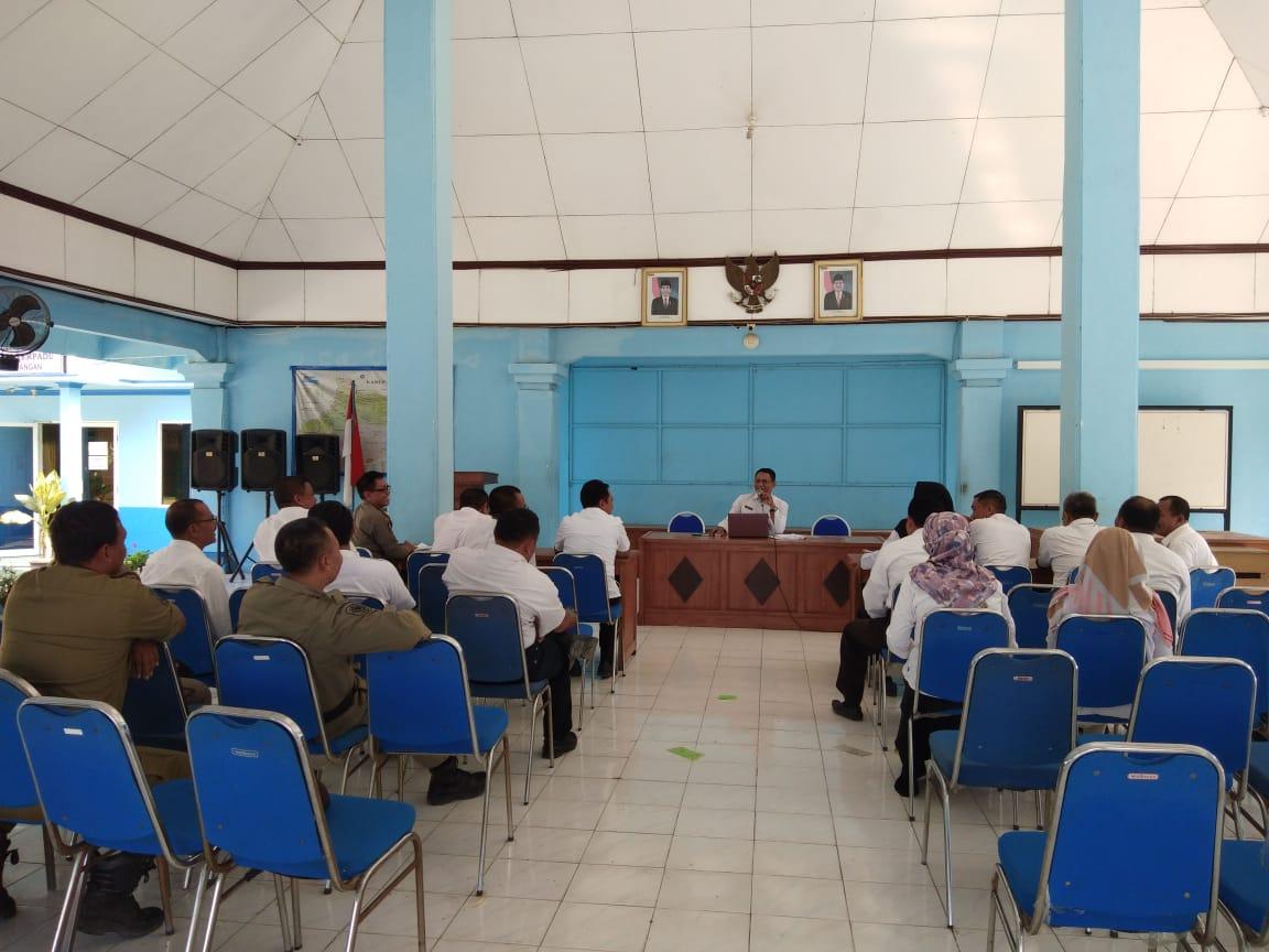 Rapat Staf <BR>Mekanisme Tahapan Pelaksanaan Pemilihan Kepala Desa