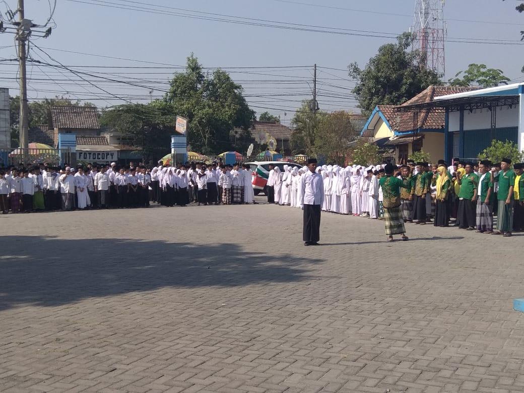 Upacara Hari Santri Nasional<BR>Kecamatan Padangan
