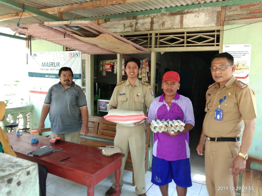 Distribusi Bantuan Pangan Non Tunai (BPNT)<BR>Desa Ngasinan Kecamatan Padangan