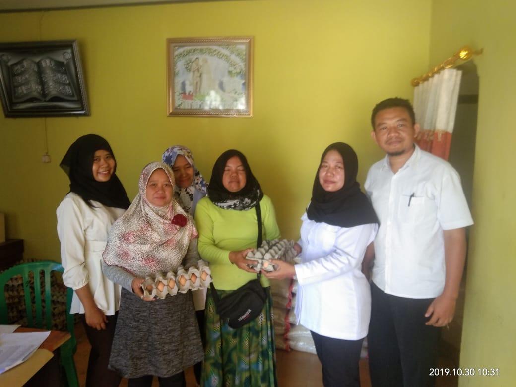 Distribusi Bantuan Pangan Non Tunai (BPNT)<BR>Desa Tebon dan Desa Dengok Kecamatan Padangan